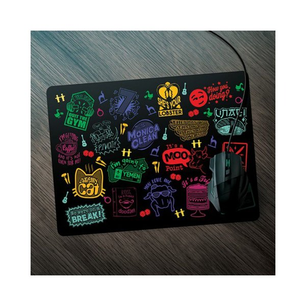 Mouse Pad -  Momentos Friends Neon - Game