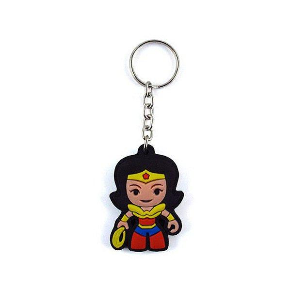 Chaveiro Cute Maravilha - DC Comics