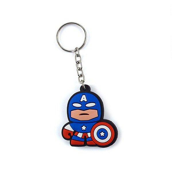 Chaveiro Cute Capitan - Marvel