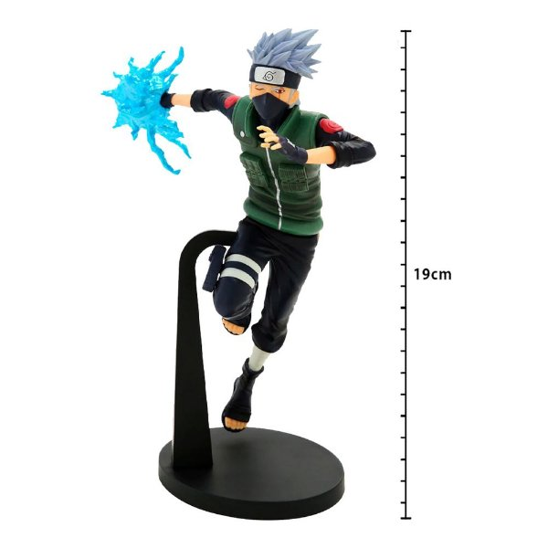 Action Figure - Naruto Shippuden - Vibration Stars - Hatake Kakashi - Banpresto