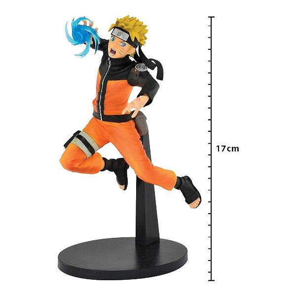 Action Figure - Naruto Shippuden - Vibration Stars - Uzumaki Naruto - Banpresto