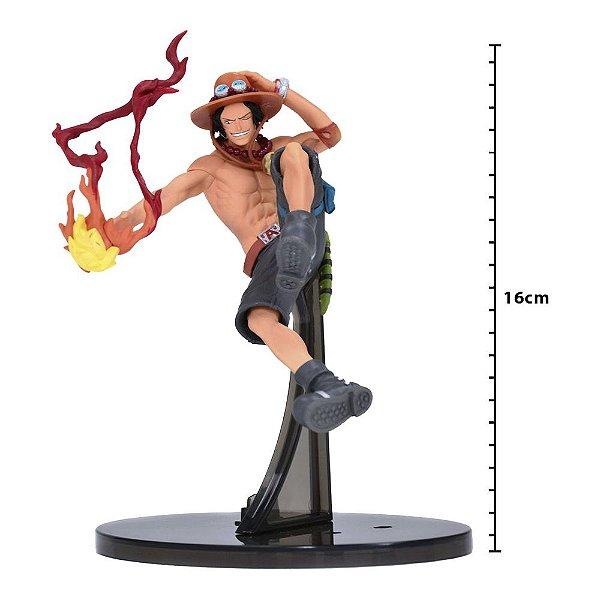 Action Figure - One Piece Sculture - Portgas D Ace - Banpresto