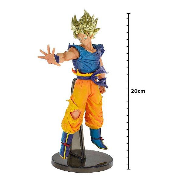 Action Figure - Dragon Ball Z - Blood Of Saiyajins - Super Saiyajin - Goku - Banpresto