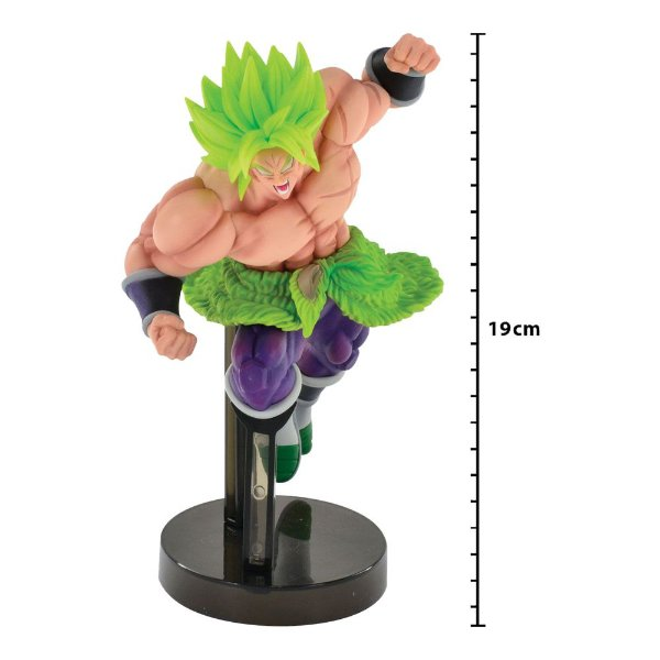Action Figure - Dragon Ball Super - Super Saiyan - Full Power Z Battle - Broly - Banpresto