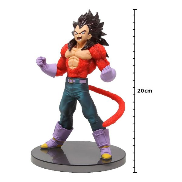 Action Figure - Dragon Ball Gt - Blood Of Saiyans Special IV - Super Saiyan 4 - Vegeta - Banpresto