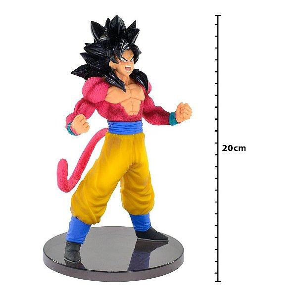 Action Figure - Dragon Ball Gt - Blood Of Saiyans Special III - Super Saiyan 4 - Goku - Banpresto