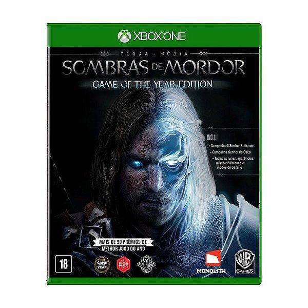 Terra-Media Sombras de Mordor Goty - Xbox One