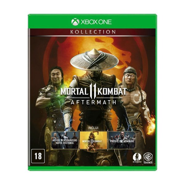 Mortal Kombat 11 Aftermath Kollection BR - Xbox One