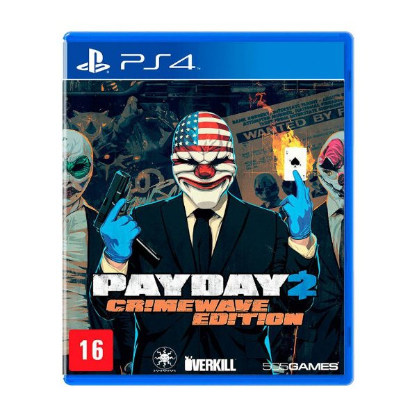 Pay Day 2 The Big Score Crimewave Edition - PS4