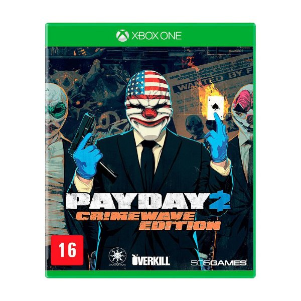 Pay Day 2 The Big Score Crimewave Edition - Xbox One