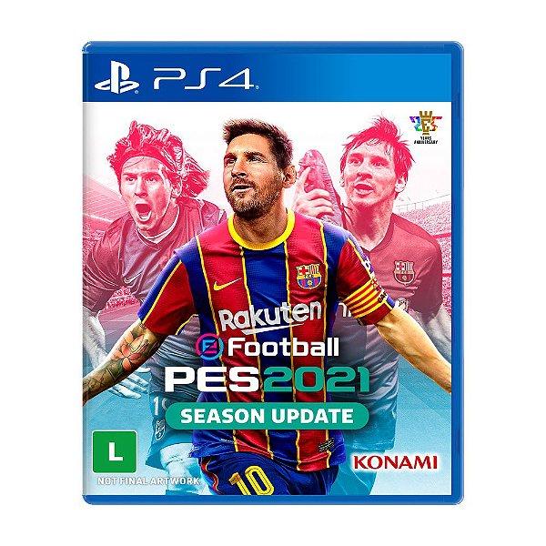 PES 21 - Pro Evolution Soccer - PS4
