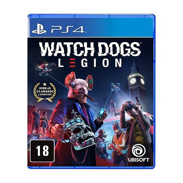 Watch Dogs Legion - Ed. Limitada Br - PS4