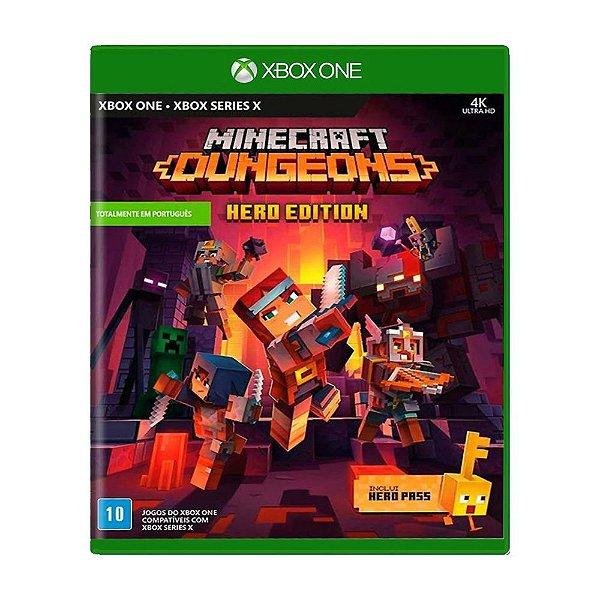 Minecraft Dungeons - Hero Edition Game - Xbox One