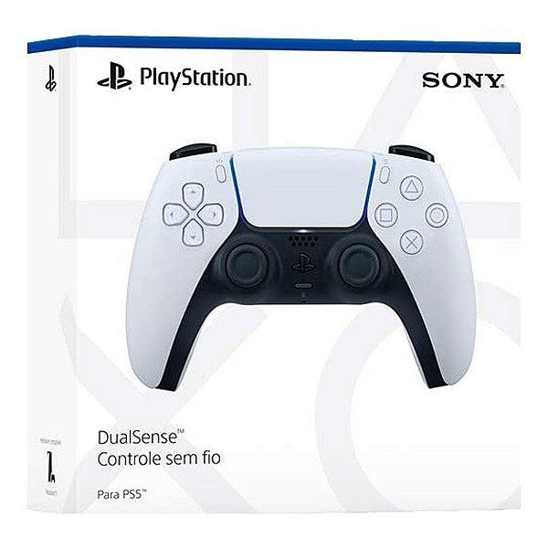 Controle Sem Fio DualSense - Branco - PS5
