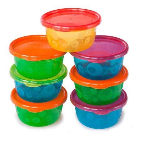 Kit Conjunto de 6 Potes com Tampa Take Toss 236ml, Girotondo