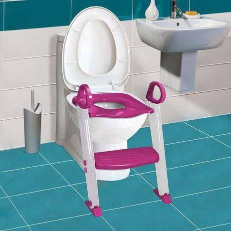 Assento Redutor com Degrau cor Rosa