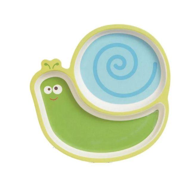 Prato Bebe Criança com Divisórias Eco Caracol, Girotondo