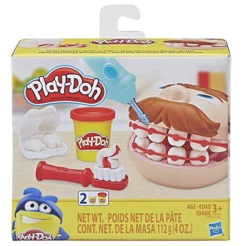 Conjunto Massinha Dentista Play Doh Mini Clássicos, Hasbro