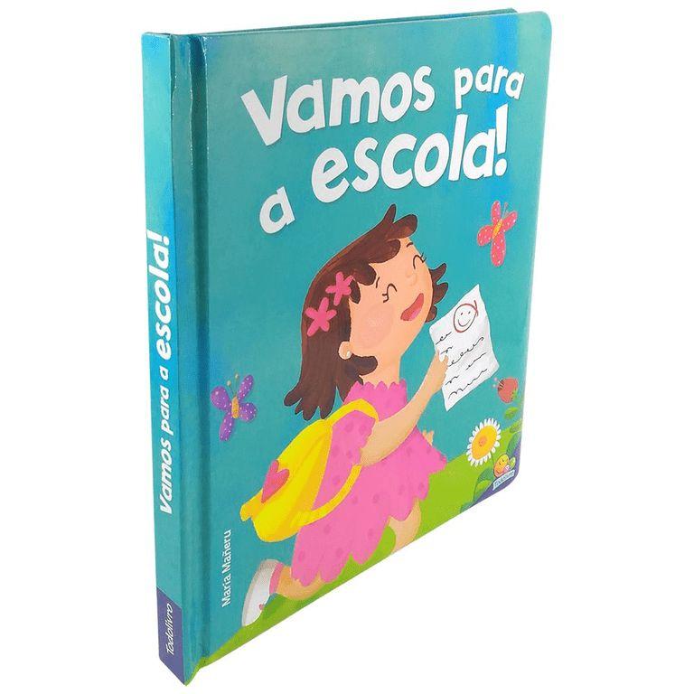 Livro Infantil Eu Já Sou Grandinho, Vamos a Escola, Editora TodoLivro
