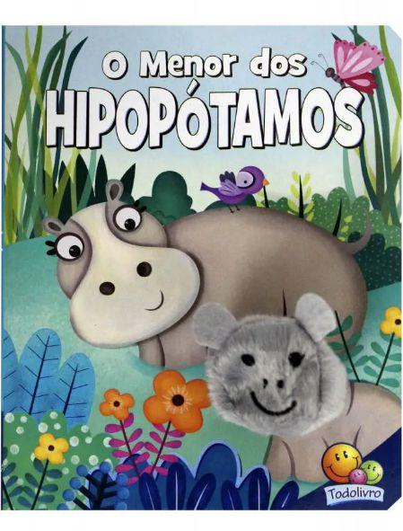 Livro Fantoche O Menor dos Hipopótamos, Editora TodoLivro