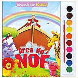Livro Brincando e Pintando com Aquarela, Arca de Nóe, Editora TodoLivro