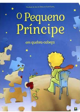Livro em Quebra Cabeça O Pequeno Príncipe ! Editora Todolivro