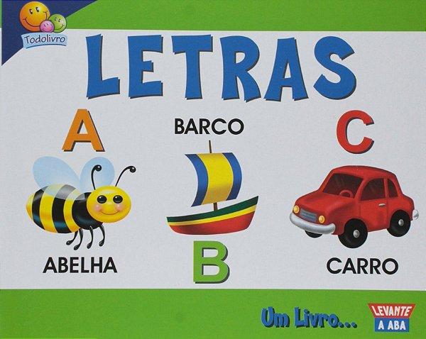 Livro Diversão com as Letras, Capa Dura! Editora Todolivro