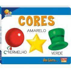 Livro Diversão com as Cores, Capa Dura! Editora Todolivro