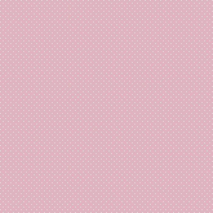 Tecido Tricoline Micro Poá Rosa-bebê