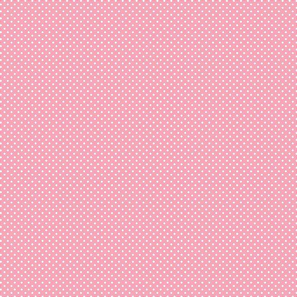 Tecido Tricoline Micro Poá Rosa
