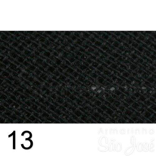 Viés Destaque 35mm Largo Preto
