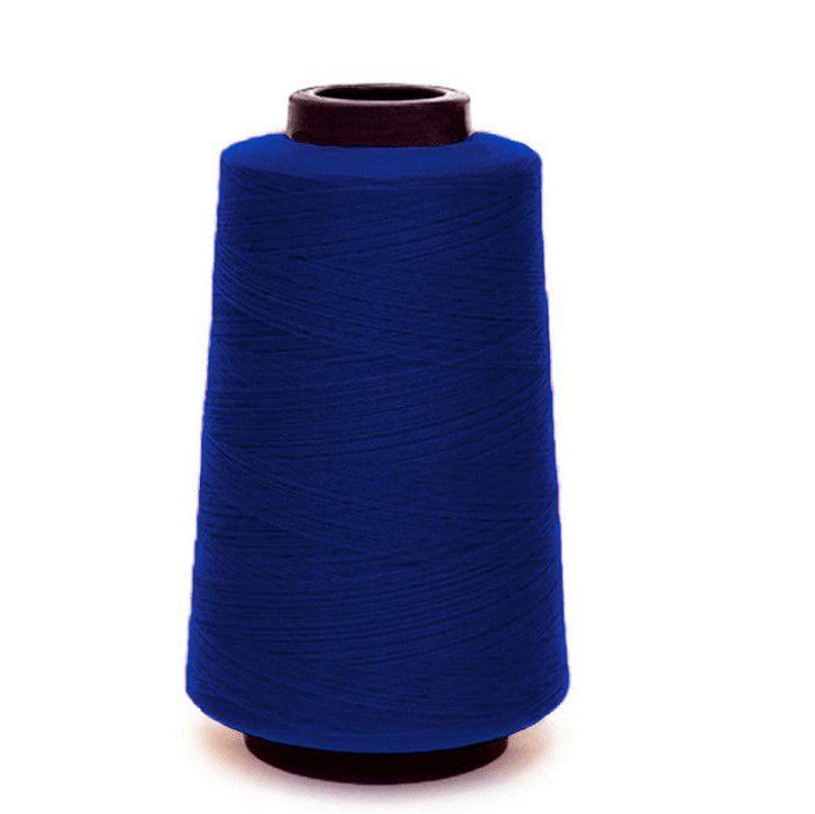 Linha De Costura Fio 120 Azul Royal