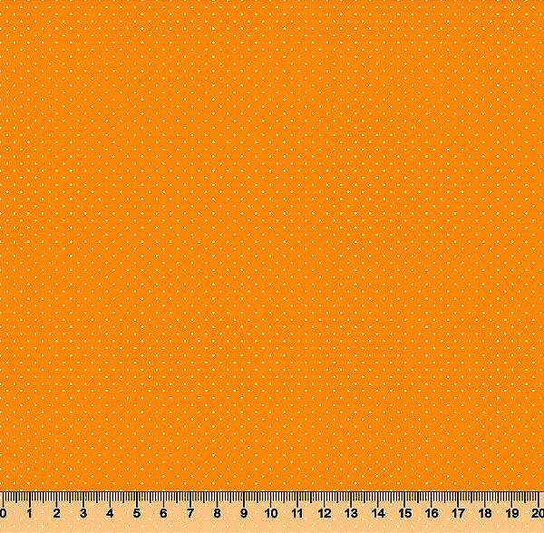 Tecido Tricoline Micro Poá Mostarda  3060-26