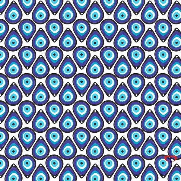 Tecido Tricoline Olho Grego 7051
