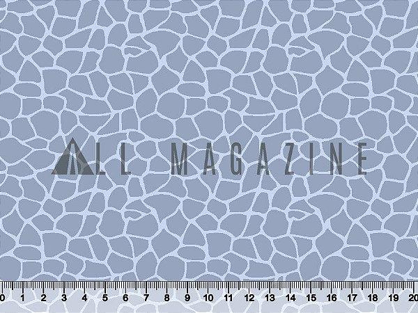 Tecido tricoline mancha de girafa