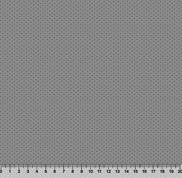 Tecido Tricoline Micro Poá Bolinha