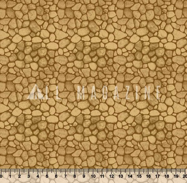 Tecido Tricoline Parede de Pedras 3509