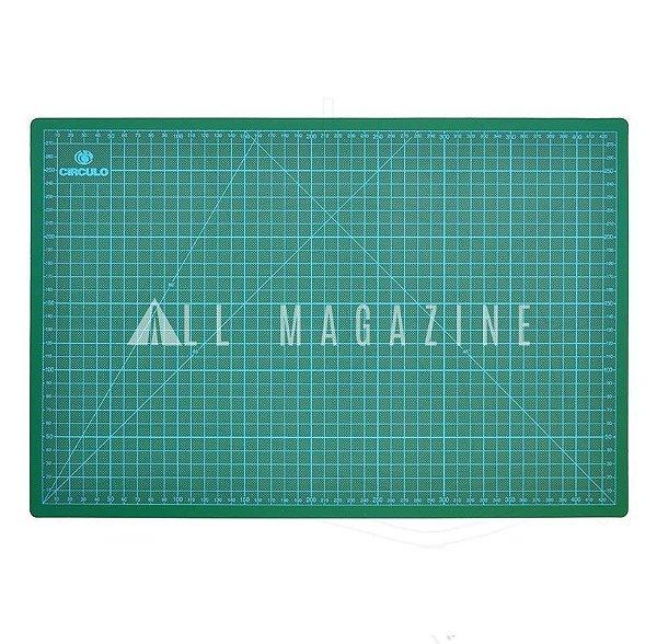 Base de Corte para Tecidos 45x30cm Verde