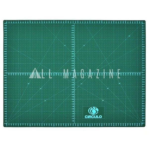 Base de Corte para Tecidos 60x45cm Verde