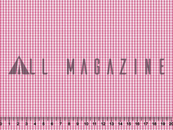 Tecido Tricoline Fio Tinto Mini Xadrez Rosa