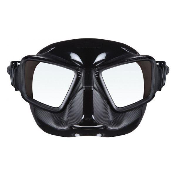 Máscara p/ Pesca Sub Attack - Preto/Preto
