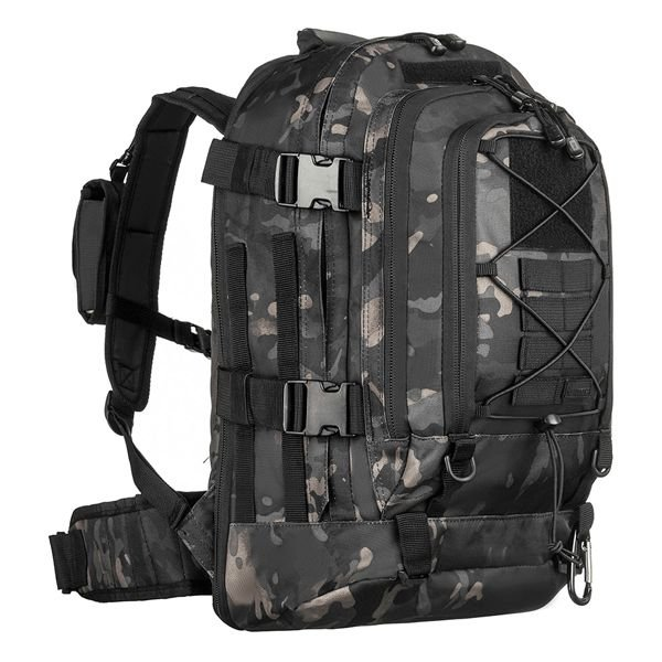 Mochila Invictus Duster 50L - Multicam Black