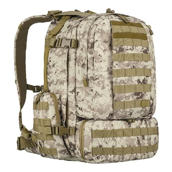 Mochila Invictus Defender 55L - Digital Deserto