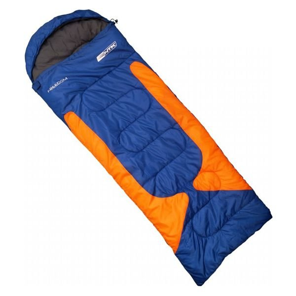 Saco de Dormir NTK Freedom -1°C -3.5°C Azul/Laranja