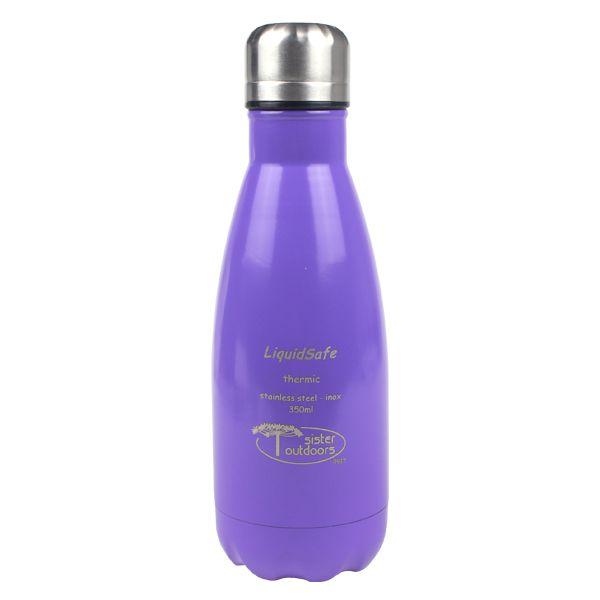Garrafa Térmica Inox Liquidsafe Best 350ml - Roxa