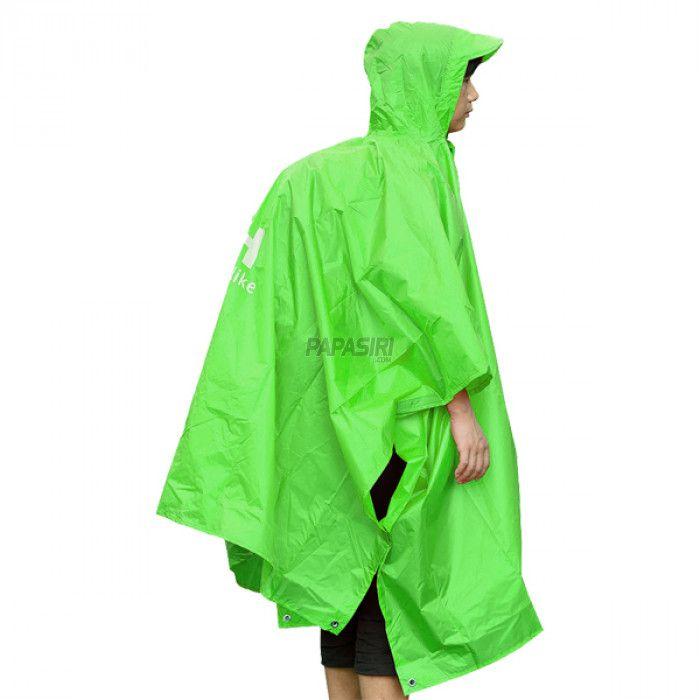 Poncho Impermeável Naturehike Unisex Multifuncional - Verde
