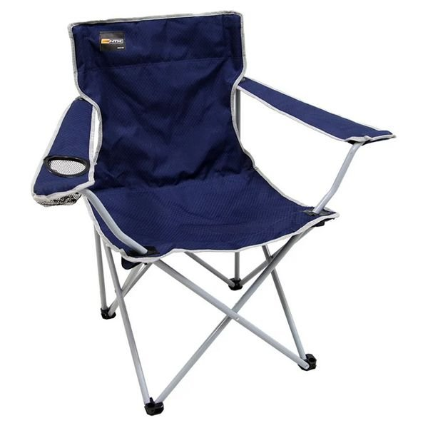 Cadeira Dobrável de Camping NTK Alvorada - Azul