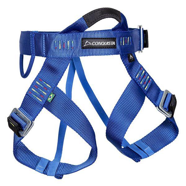 Cadeirinha p/ Escalada Conquista Canyoning PP (Infantil) - Azul