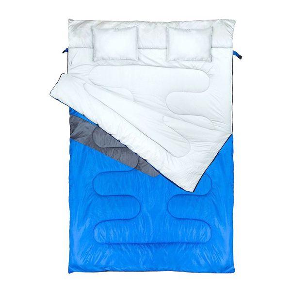 Saco de Dormir NTK Kuple Casal Azul