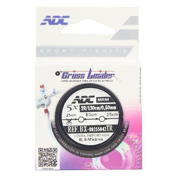 Linha Montada Chicote ADC Cross Leader 0.50mm 5x130cm